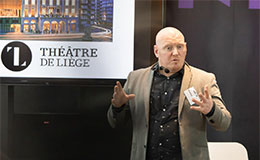 Jonathan Thonon, IMPACT's Matchmaker of Performing Arts and Technology