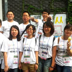 Student reporters of Chinese universities Visit to Report on Korean Culture(2012)